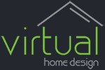 Virtual Home Design Retina Logo